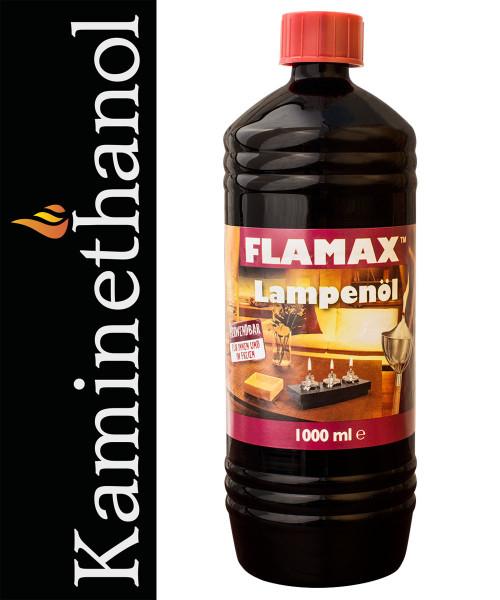 12 Liter Flamax Lampenöl, 12 PET- Flaschen