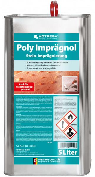 Poly Stein-Imprägnierung 1 x 5 Liter